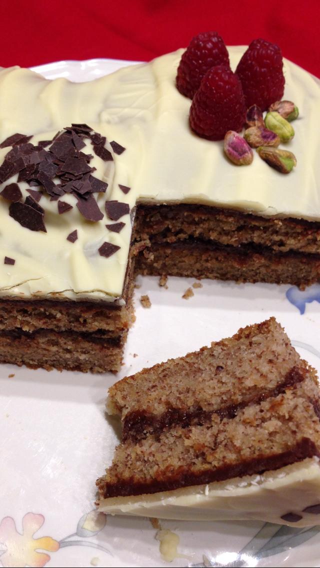 Marzipan torte valentinstag