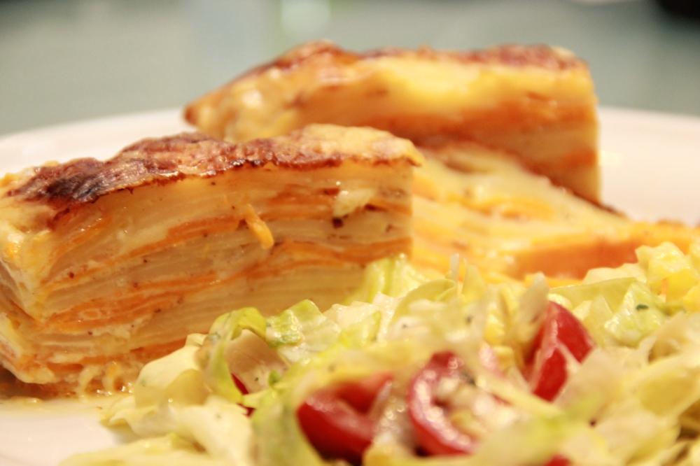 Doppelter Kartoffel Auflauf (12)