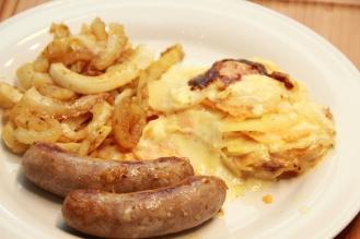 Kartoffel Auflauf mit Fenchel Salsiccia (5)