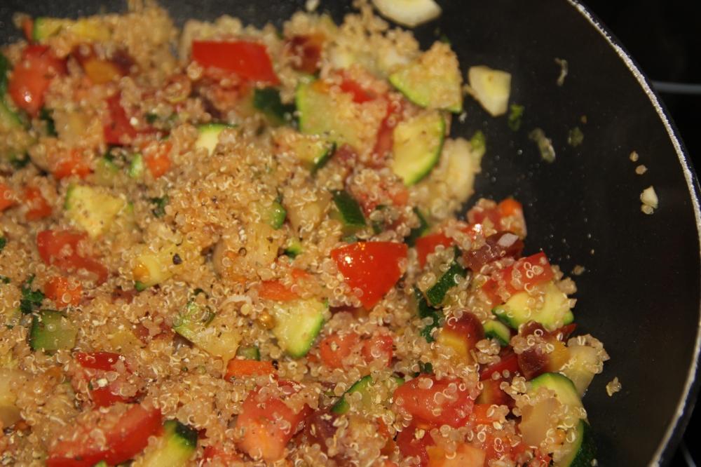 Bunte Quinoa Pfanne (4)