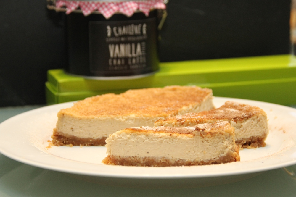 Chai latte Cheesecake