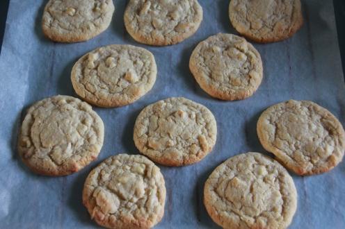 Weisse Schokolade Cashew Cookies (30)