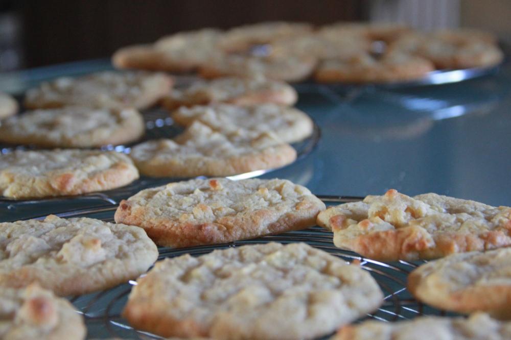 Weisse Schokolade Cashew Cookies (44)