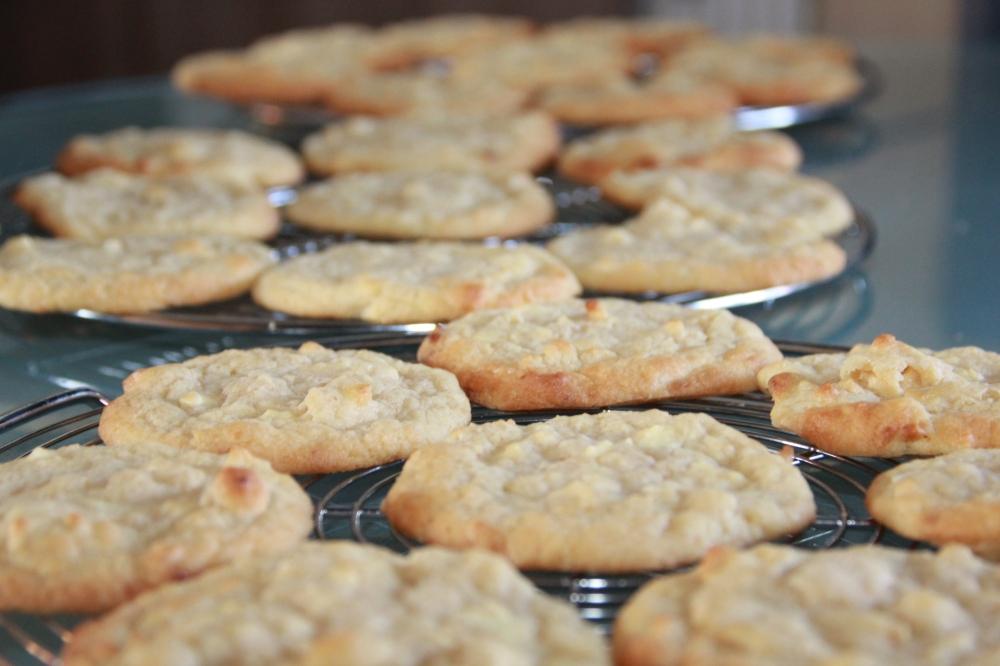 Weisse Schokolade Cashew Cookies (47)