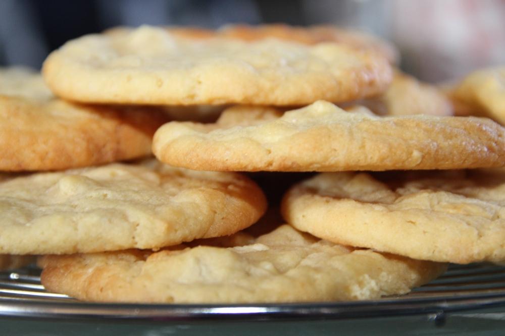 Weisse Schokolade Cashew Cookies (56)