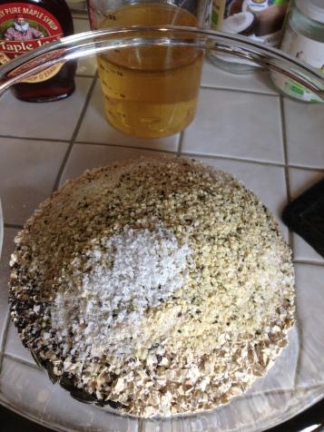 Gesundes Körnerbrot ohne Mehl