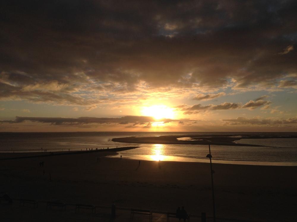 Borkum Sonnenuntergang